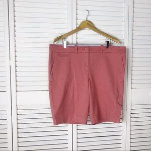 Tommy Hilfiger salmon Bermuda shorts